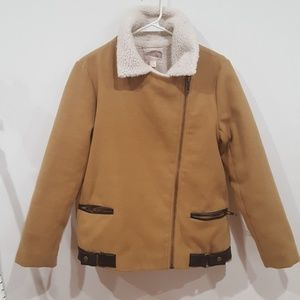 Tan Forever 21 Jacket, XS